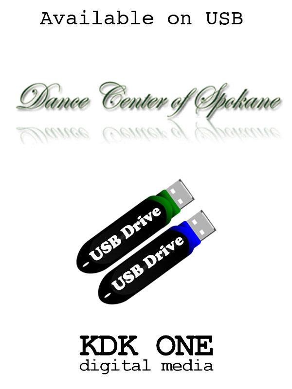 Dance Center of Spokane available on USB
