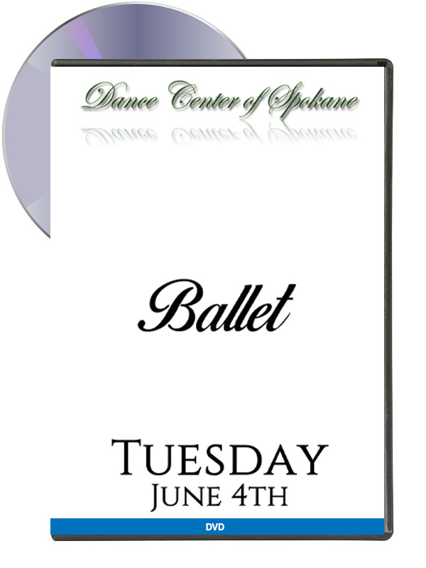 Ballet – Tuesday June 4th (DVD)
