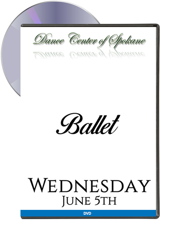 Ballet – Wednesday June 5th (DVD)