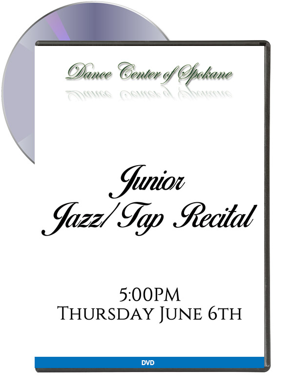 Junior: Jazz-Tap Recital June 6th (DVD)