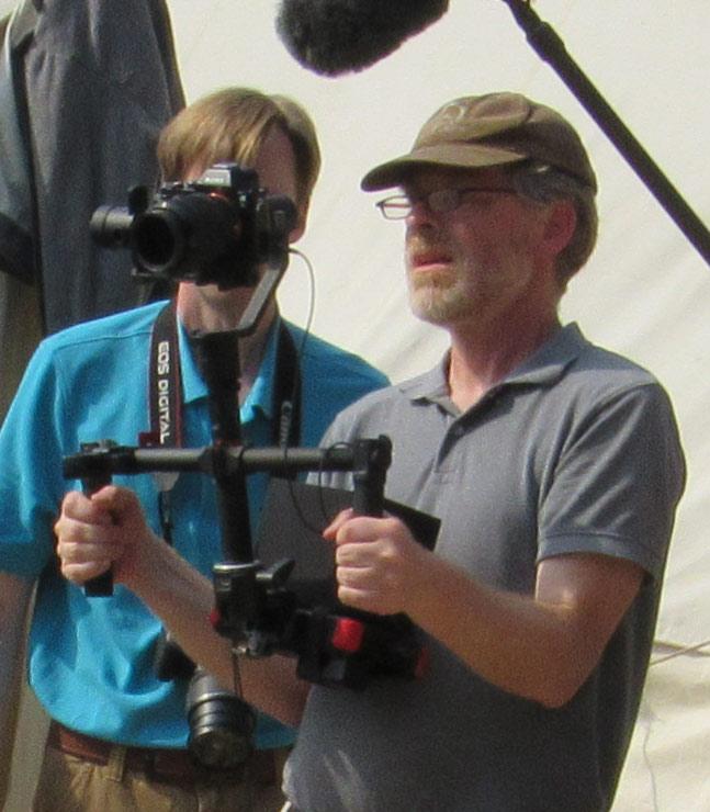 Philip behind the camera