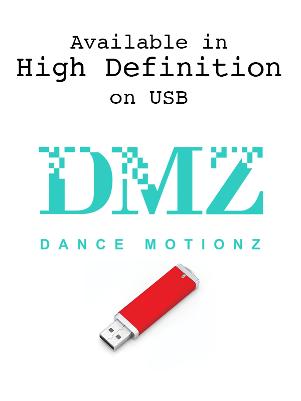 Dance Motionz in High Definition on USB Drives