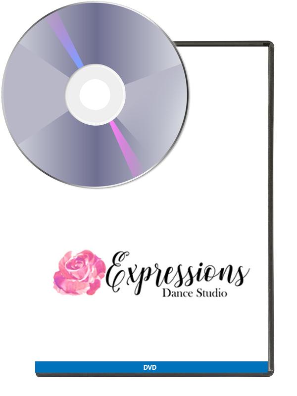 Expressions Dance Studio Recital 2019 (DVD)