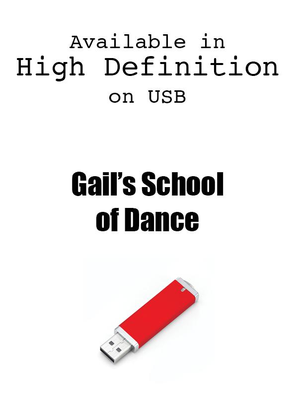 Gail's School of Dance Recital 2019 on USB Drives
