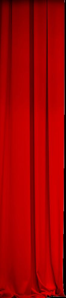 left movie curtain