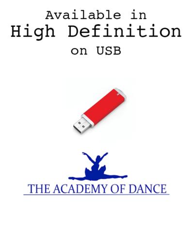 Academy of Dance USB
